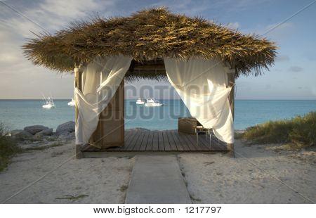 Massage Hut By The Sea