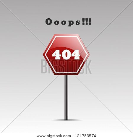 Page 404  Design 404 Error Page Not Found Vector Eps 10