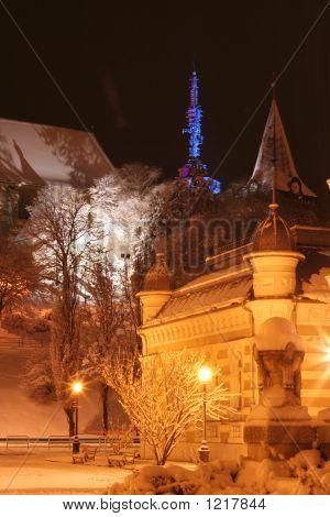 Miskolc In Night