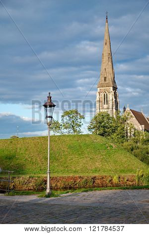St Alban's Church in Copnehagen Denmark Europe