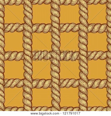 Engraved Rope In Vintage Style