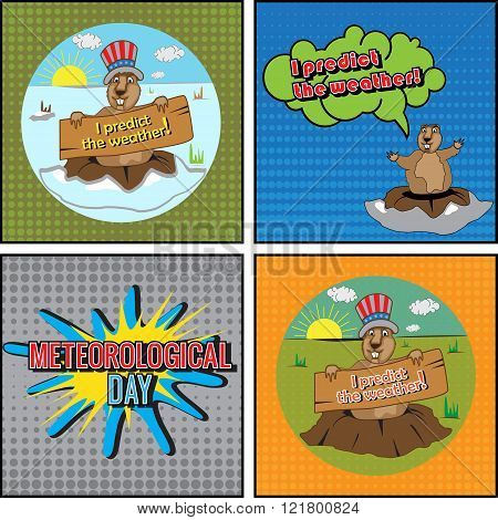 Cards for Meteorological Day