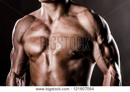 Male upper torso