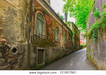 Old Buildings And Houses In Sintra