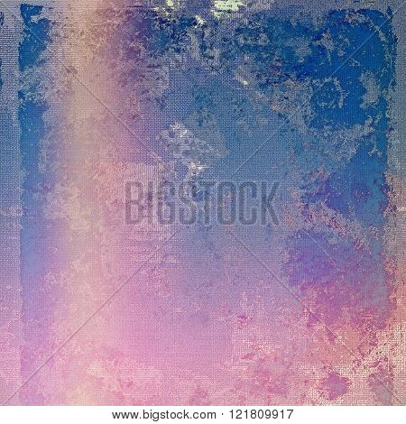 Art grunge texture - for creative design or scrapbook. With different color patterns: blue; purple (violet); pink