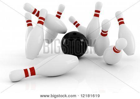3d bowlink, strike !