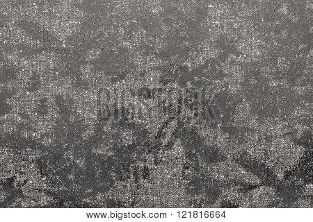 Abstract Spotty Texture Fabric Of Pale Beige Color