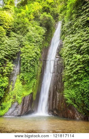 An image of a nice waterfall Bali