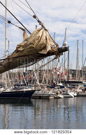 Sailing Vessel Bowsprit