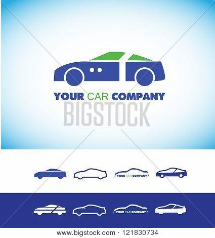 Car Shape Logo