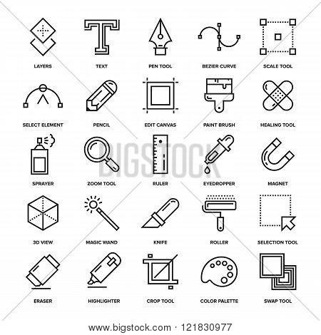 Design Tools Icons