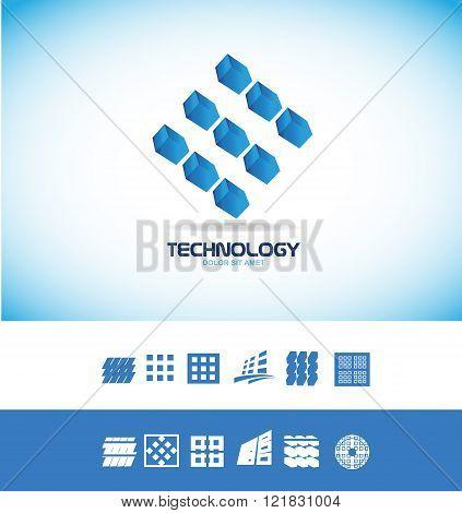 Technology Microchip Logo