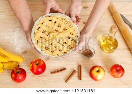 Beautiful Pie In Hand