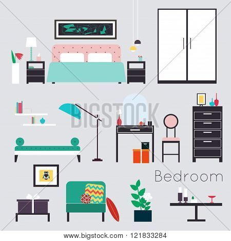 Bedroom. Furniture And Accessories - Modern Bedroom Furniture, Including Beds, Day Bed, Night Stands