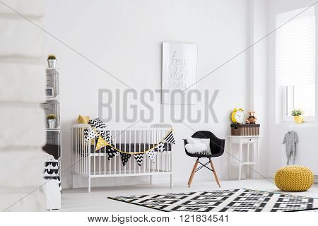 Shot of a modern room for children