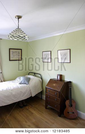interior del dormitorio,