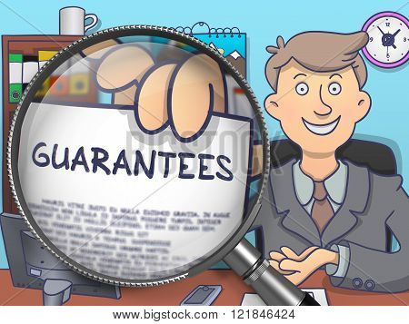 Guarantees through Lens. Doodle Style.