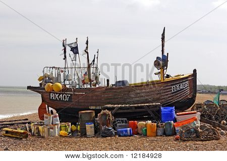 uk fishing boat