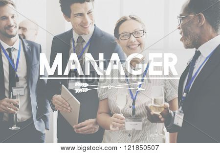 Manager Leadership Corporate Supervising Concept