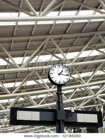 Large Train Station Clock