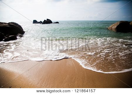 clean beach in Thailand