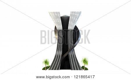 Futuristic Building Design