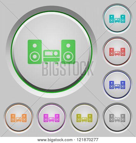 Hifi Push Buttons