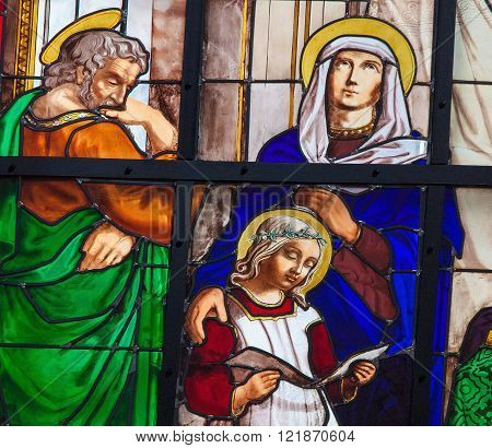 Joseph, Mary And Jesus