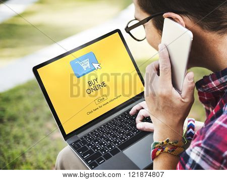 Buy Online Business Digital Technology Internet Concept