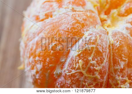 macro of a small orange as an organic texture background ** Note: Shallow depth of field