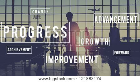 Progress Development Innovation Improvement Concept