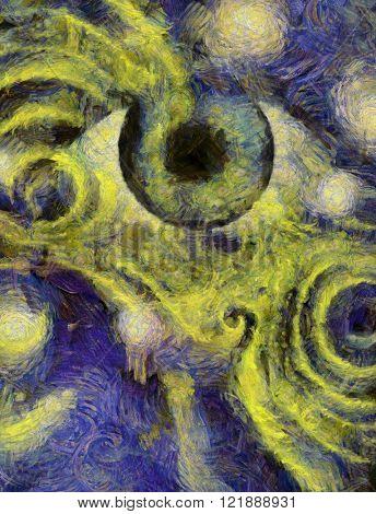 Human Eye Abstract