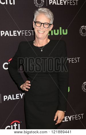 LOS ANGELES - MAR 12:  Jamie Lee Curtis at the PaleyFest Los Angeles - Scream Queens at the Dolby Theater on March 12, 2016 in Los Angeles, CA