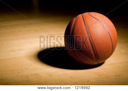 Basketball On The Hardwood