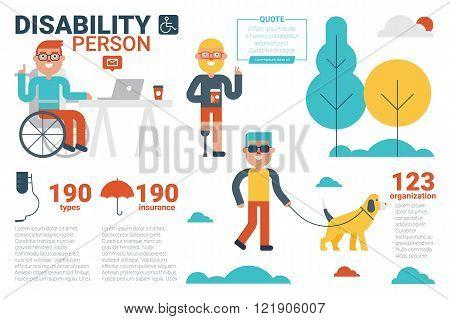 Disability Person Concept