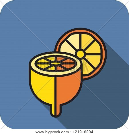 icon chopped lemon