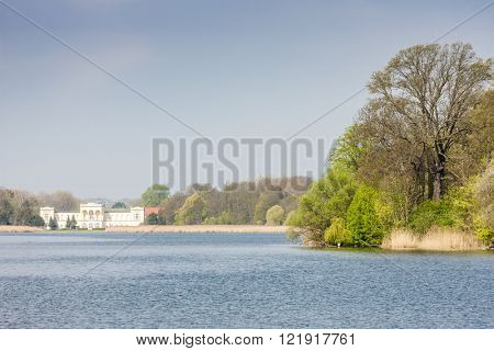 Hranicni Palace, Hlohovecky pond, Czech Republic