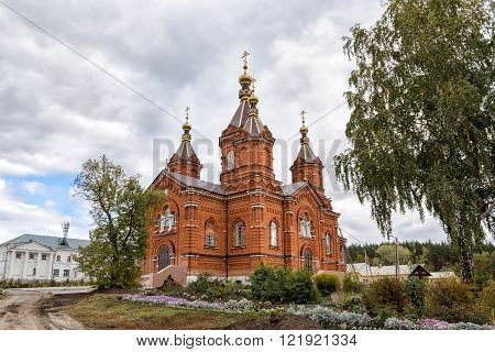 Church of the Ascension of Christ. Bogoroditsky Tikhonovsky Tyuninsky monastery. History monastery dates back to 1814
