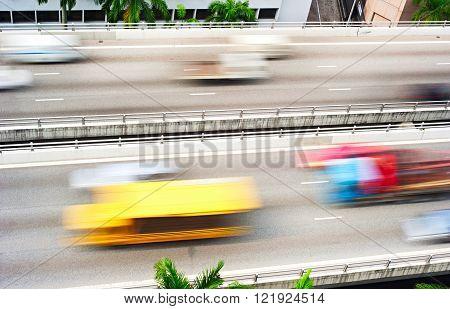 Speedy Highway In Singapore