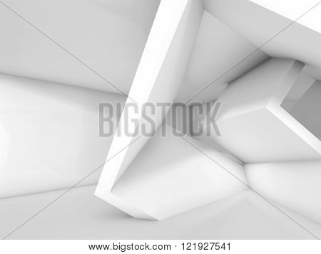 White Cubic Structures. 3 D Background