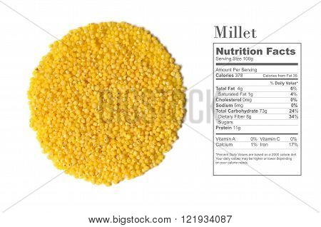 Raw Yellow Millet
