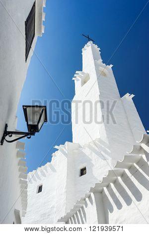 binibeca traditional fishing village in Menorca, balearic islands