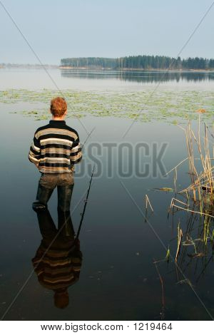 Fisherman, Summer, Travel