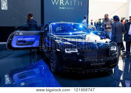 Rolls Royce Wraith Black Badge Edition