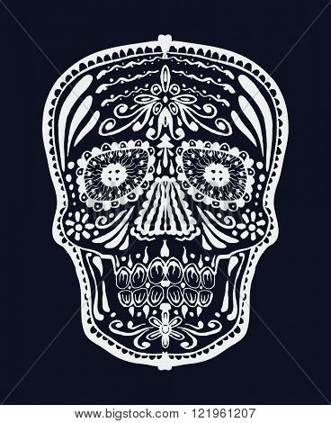 Sugar skull. Jpeg version