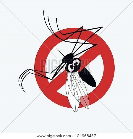 Mosquito warning sign 3