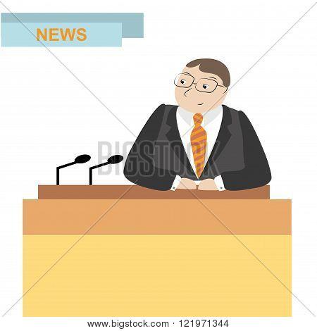 news anchor men headline tv,