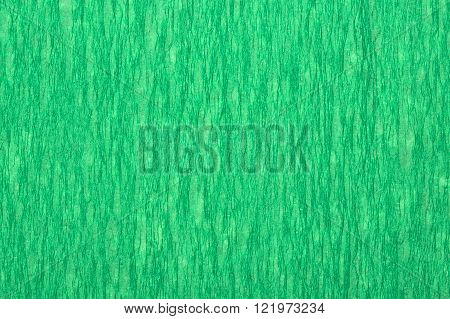 Green tissue paper, a background or texture