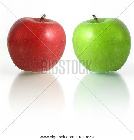 Red Green Apples