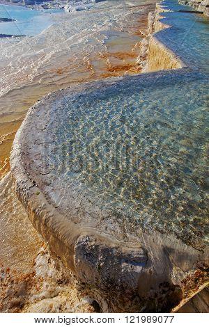 Travertine Pool At Pamukkale